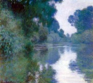 Claude Monet, Bras de Seine près de Giverny, 1897.