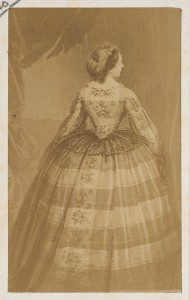 Eugène Disdéri, La Taille, 1860s.