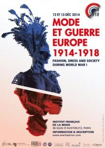 mode et guerre en Europe