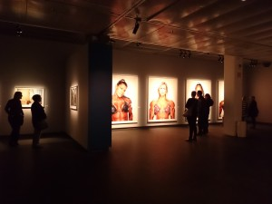 "Vue de l'exposition ""Martin Schoeller"" au Fotografiska, Stockholm."