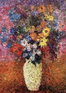 vase after odilon redon